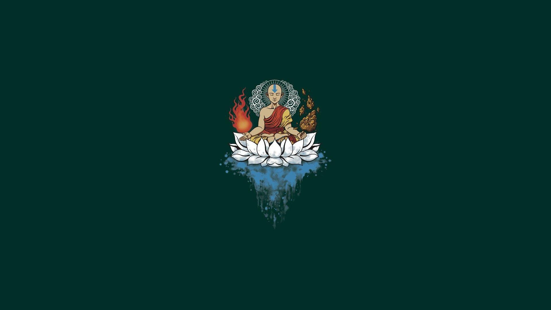 General 1920x1080 Minimalism Buddhism Avatar The Last Airbender