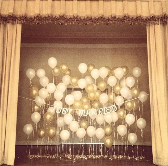 Wedding details balloons balloon backdrop backdrops for Balloon backdrop decoration