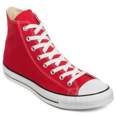 4454bc144849 Red Convers shoe Converse Trainers