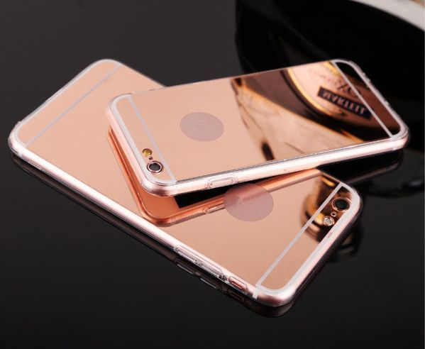 New Fashion Electroplating Mirror Case Cover For Apple Iphone 5s 5