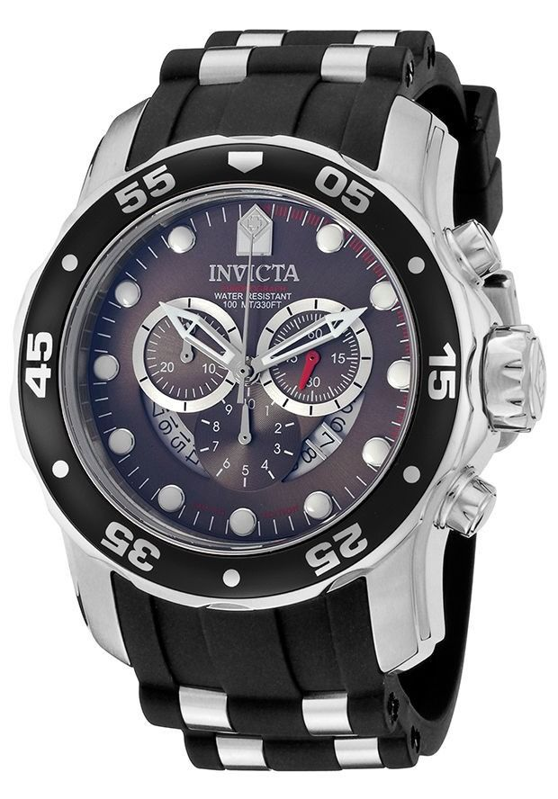 407a2576785c Reloj Invicta Pro Diver Cronógrafo Acero Negro Caucho 6977 ...