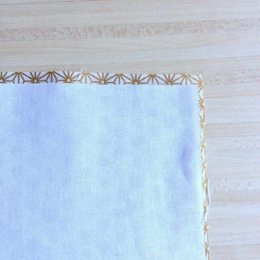 ▷ Coudre un Furoshiki emballage cadeau (tuto couture débutant)