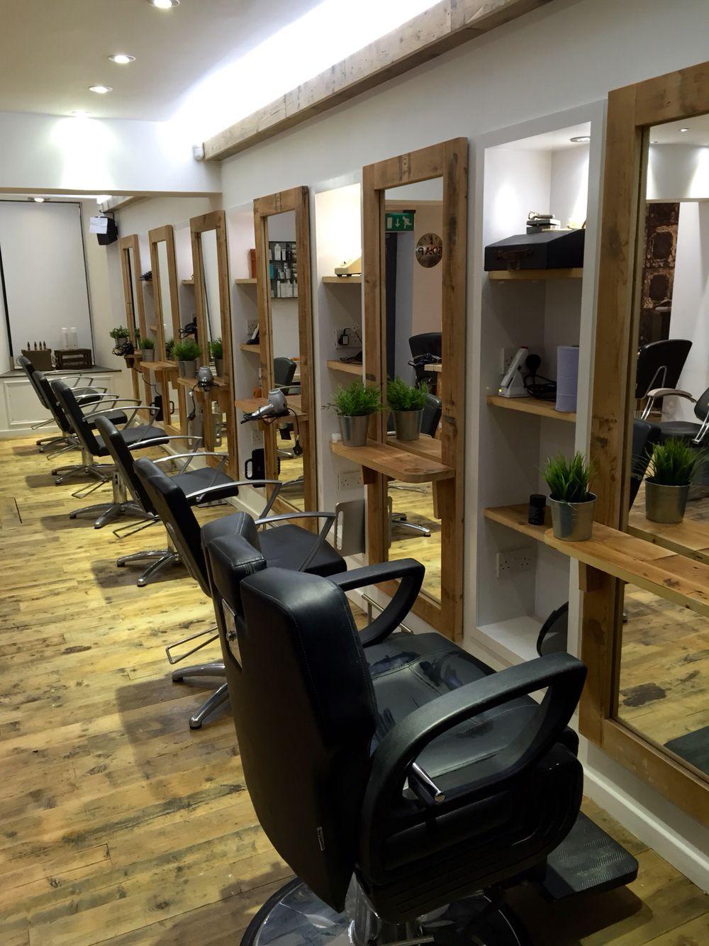 Our men\'s hair salon in Edinburgh #cool #barber #eco #reclaimed ...