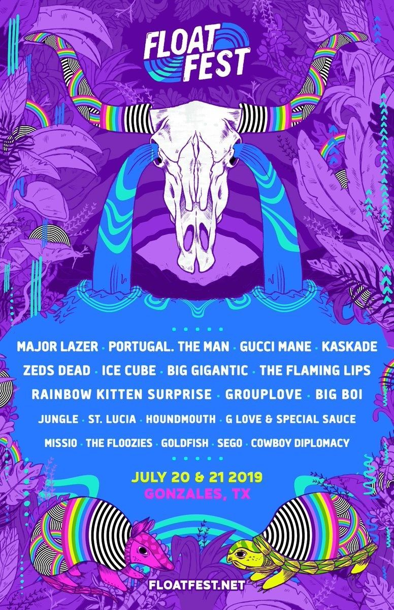 Musicfestivalwizard On Twitter Music Festival Poster Rainbow Kitten Surprise Float