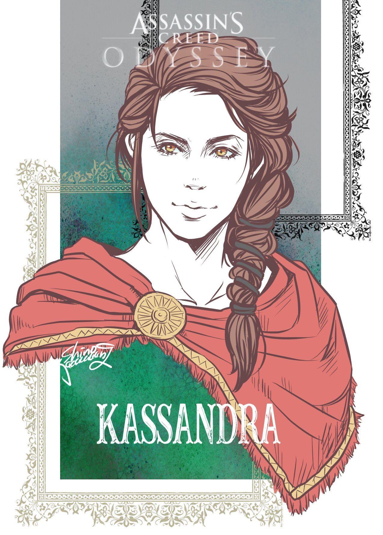 Kassandra Assassin S Creed Odyssey Assassin S Creed Assassins Creed Assassins Creed Odyssey