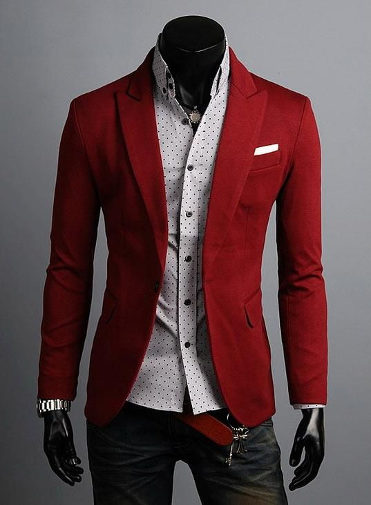 I like the red jacket. My husband would say its too girly.