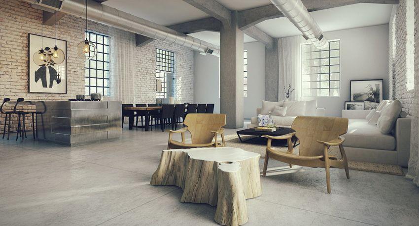 interior design - Loft Home Design