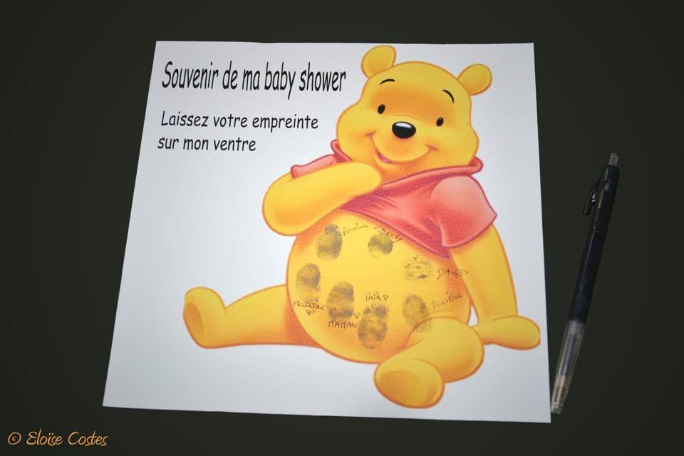 Un souvenir a empreintes pour une baby shower toulouse .