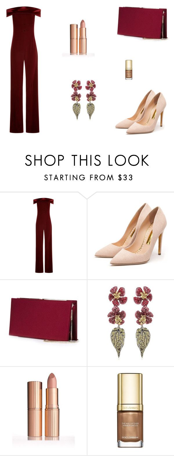 """Untitled #6719"" by mie-miemie ❤ liked on Polyvore featuring Galvan, Rupert Sanderson, Jimmy Choo, Valentino and Dolce&Gabbana"