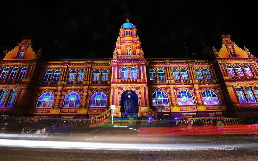 Light works: 2015 Lumiere Durham Light Festival, in pictures #lightartinstallation