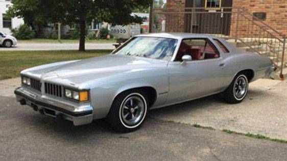 1975 Pontiac Lemans Sport Coupe Offered For Auction 1765900 Pontiac Lemans Pontiac Sports Coupe