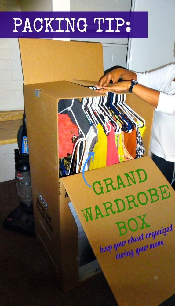 Grand Wardrobe Box Wardrobe Boxes Moving Clothes