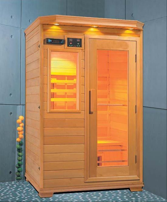 Superb Personal Home Sauna   Where Could I Put This....heck, Who Needs A Walk In  Closet In The Bedroom?