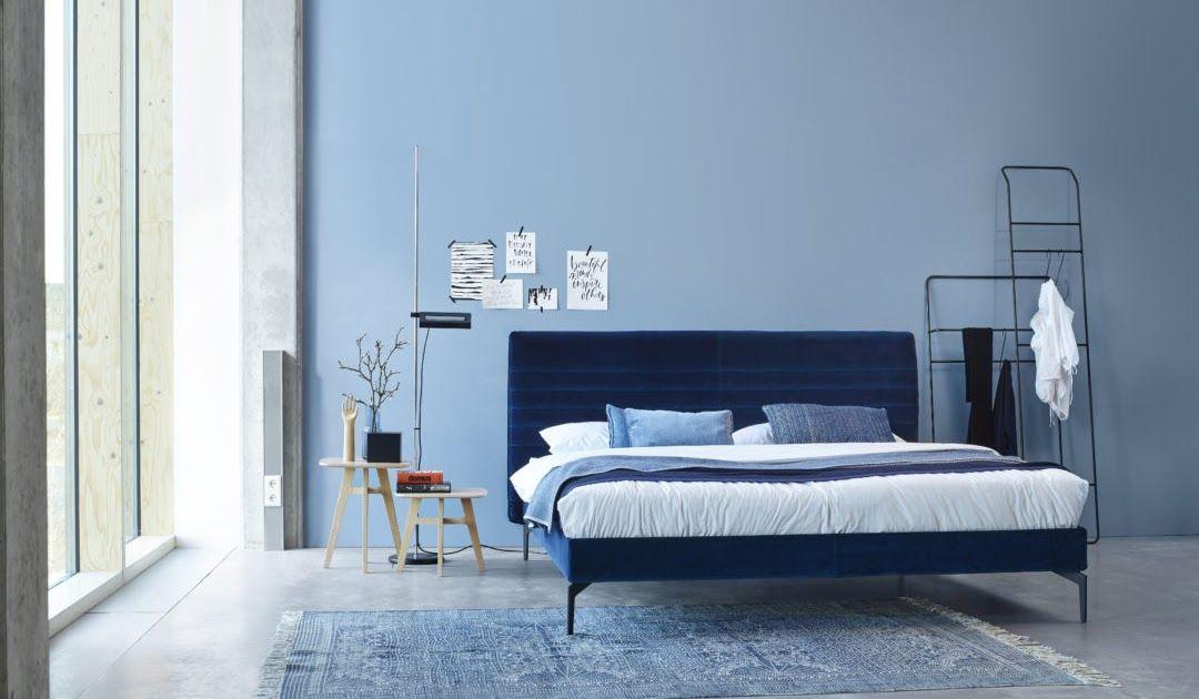 Alpina Ruhe des Nordens Wohnen, Blaues wohnzimmer
