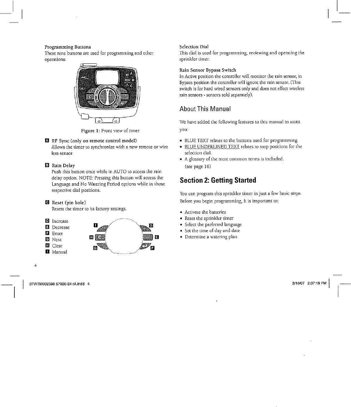 Orbit Pump Relay Manual In 2020 Sprinkler Timer Relay Water Timer