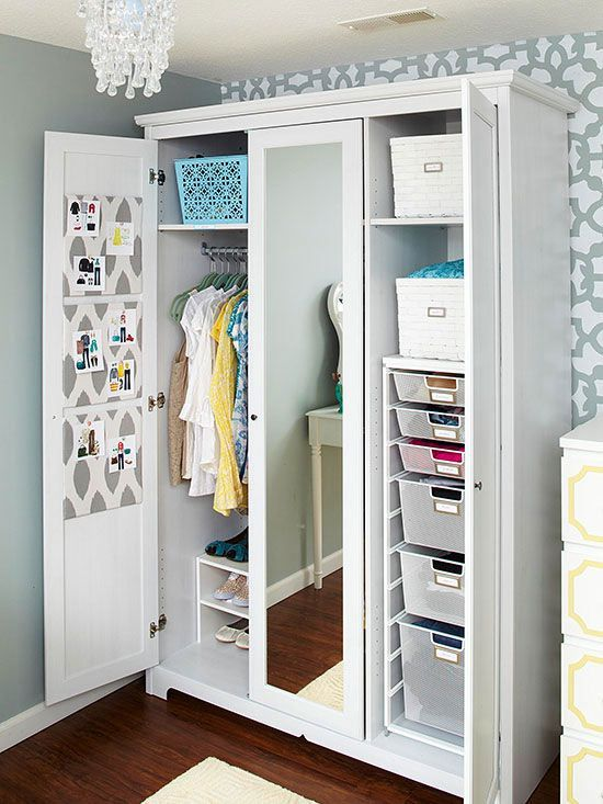 Wardrobe Armoires, Storage Solution For The Closet Less (9 Winning Examples  And Where