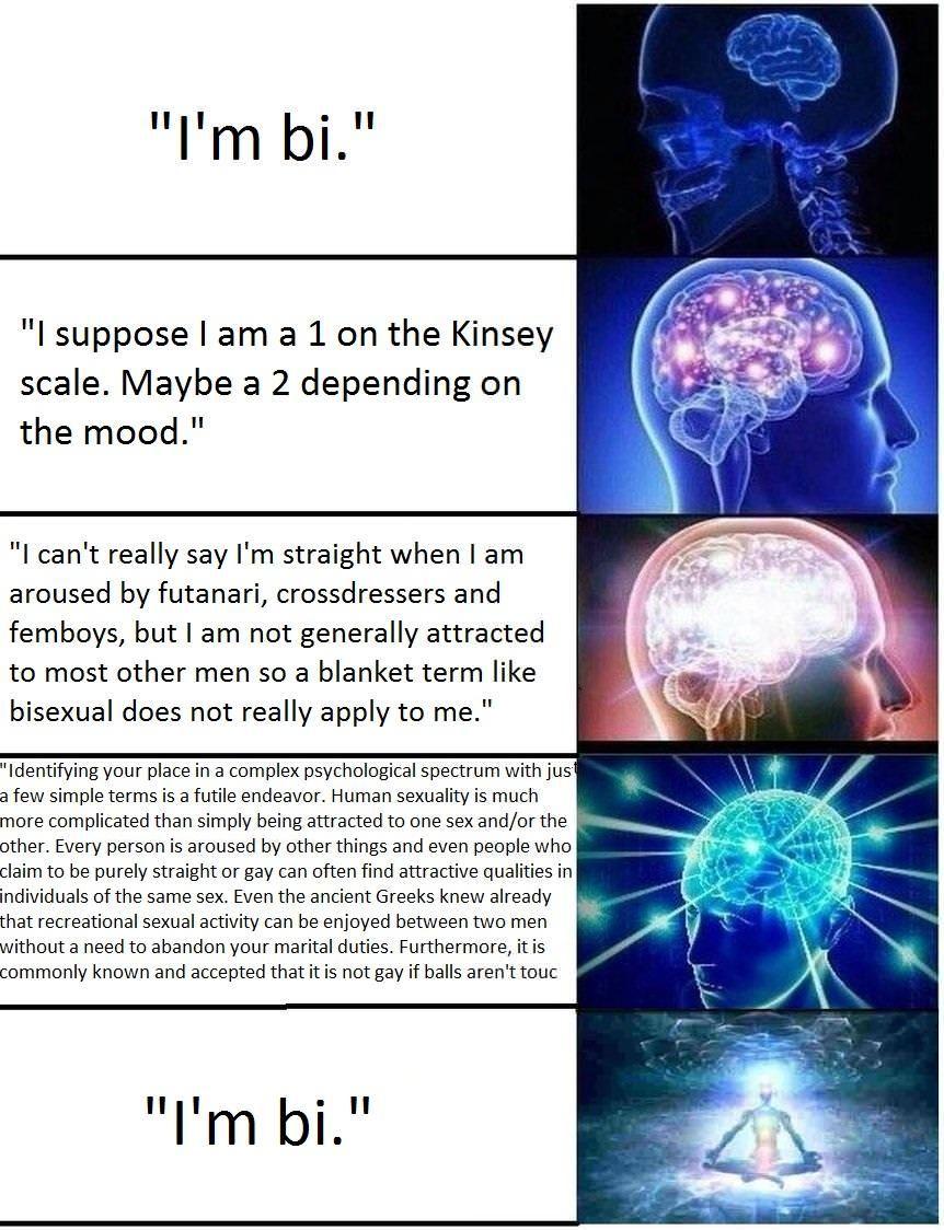 No Brain Meme Template