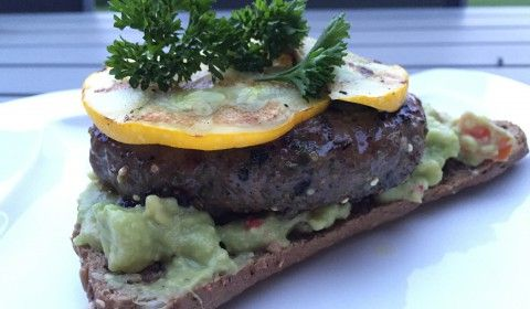Guacamole Burger | Rezept | Lebensmittel essen, Guacamole ...