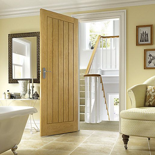 wickes geneva oak cottage internal door 1981mm x 762mm. Black Bedroom Furniture Sets. Home Design Ideas