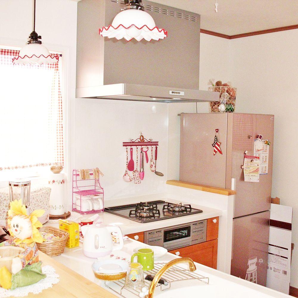 カントリー調のかわいいキッチン 2020 キッチン カントリー調 注文住宅
