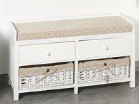 panca provenzale bianca etnico outlet ingresso home decor furniture decor On panca ikea bianca
