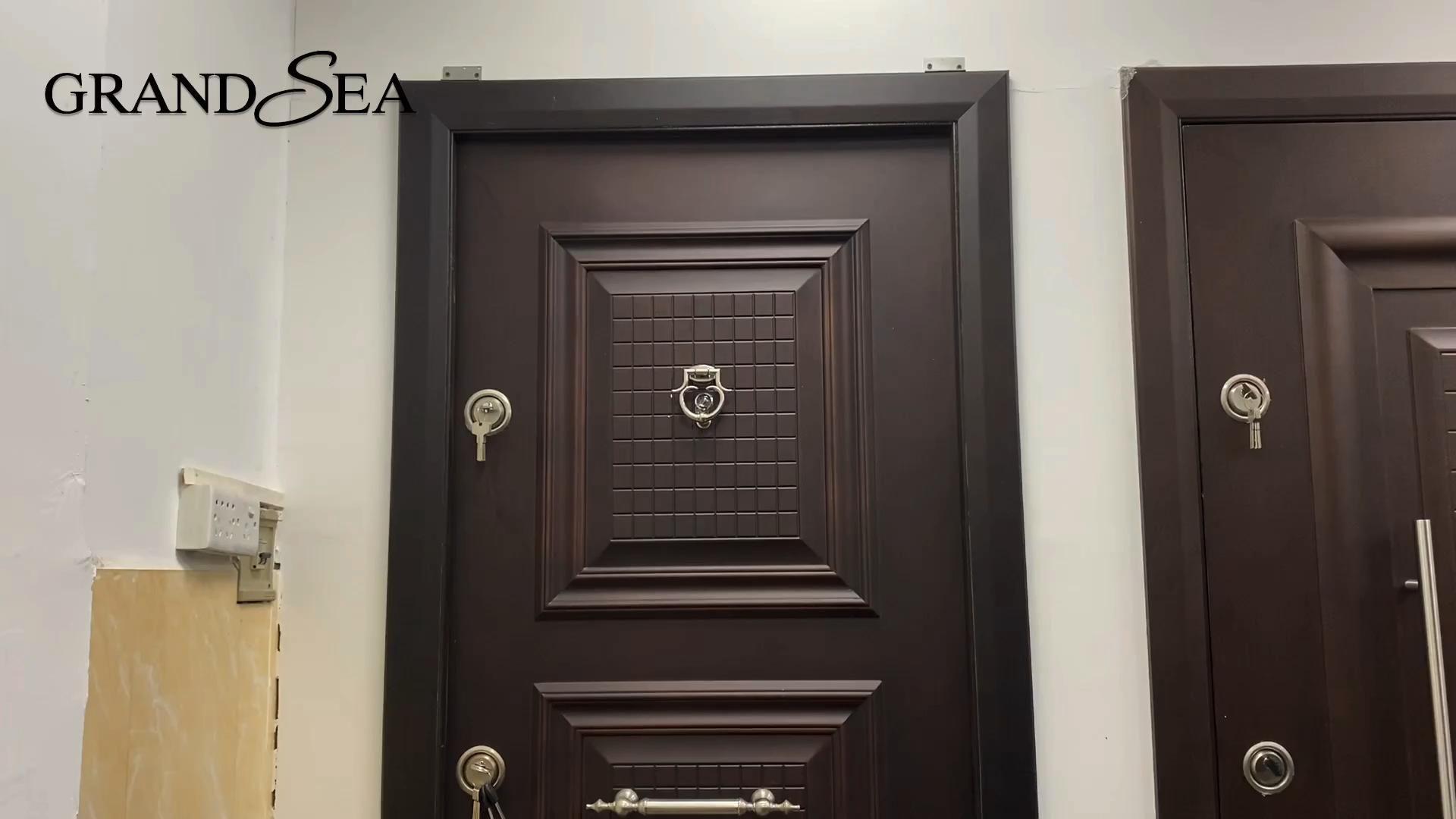 Turkey armored steel door