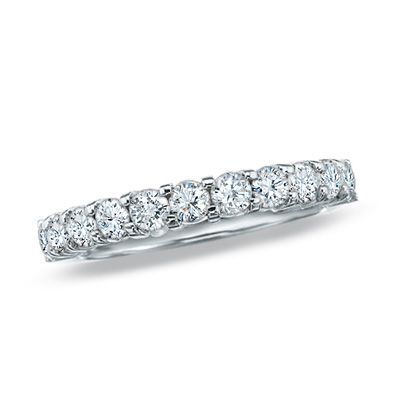 Zales Outlet Item 18135541 Diamond Wedding Bands Diamond Anniversary Bands Wedding Bands