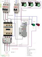 Esquemas eléctricos: MOTOR TRIFASICO CON TELERRUPTOR