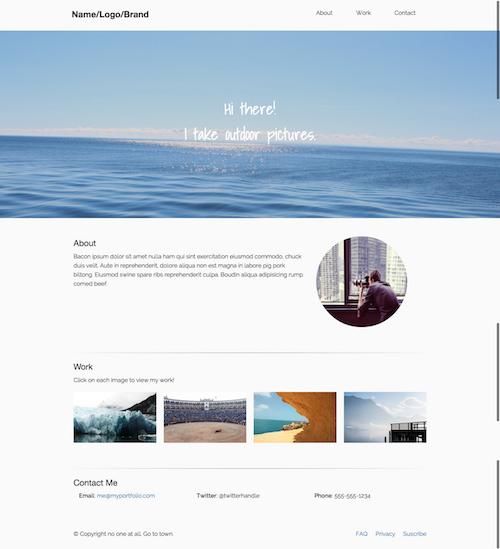Foundation Html Templates Web Design Resources Pinterest