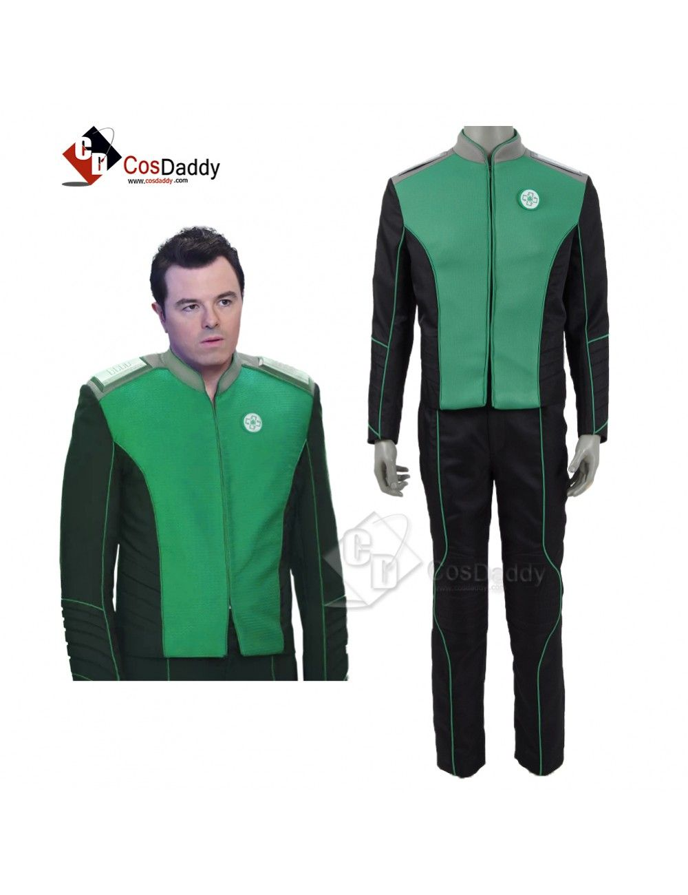 The Orville Blue Uniform of the Command Department Cosplay Costumes