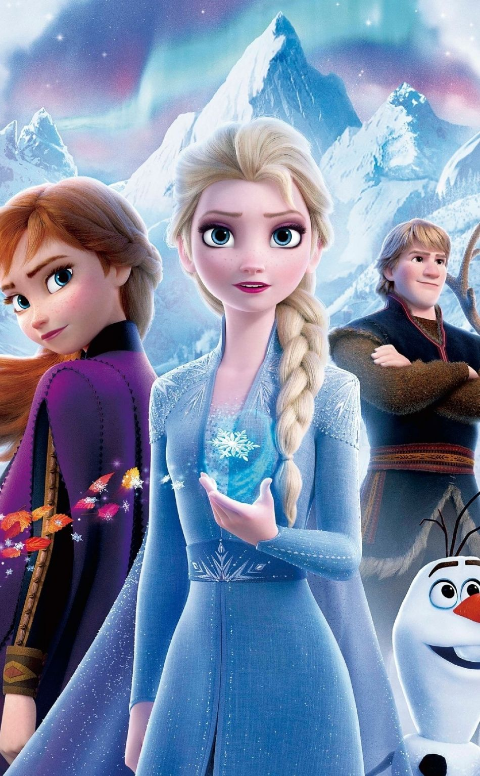 950x1534 Frozen 2 Princess Sisters Movie 2019 Wallpaper Disney Frozen Elsa Art Frozen Pictures Frozen Film