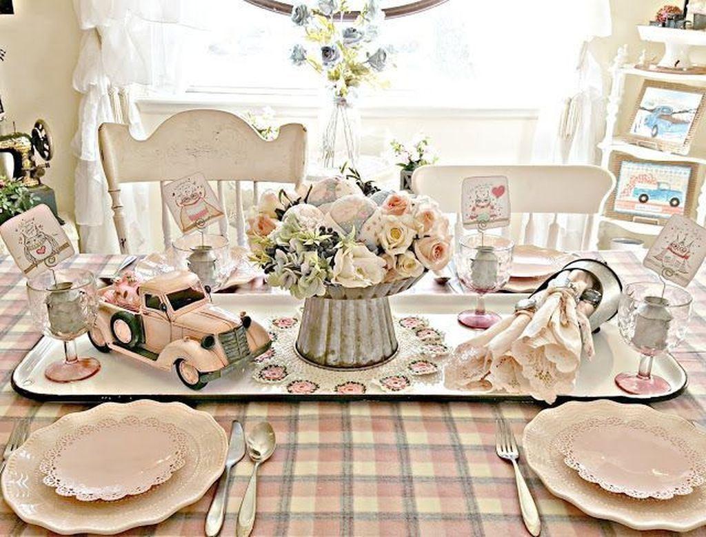 50 Romantic Valentines Day Dining Room Decor | Valentine ...