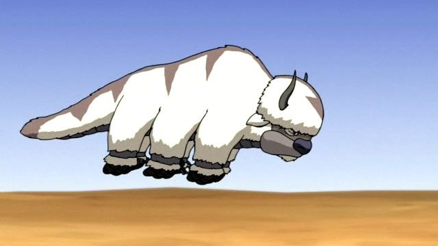691. Ride Appa The last airbender, Fiction bucket list