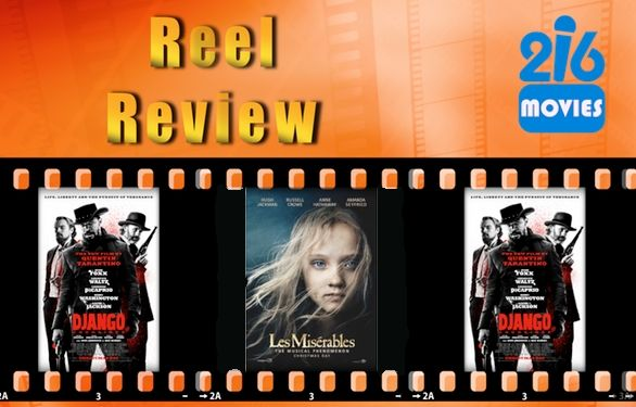 Watch our movie review show, Reel Review on http://216tv.org/  This week we review Django Unchained and Les Miserables