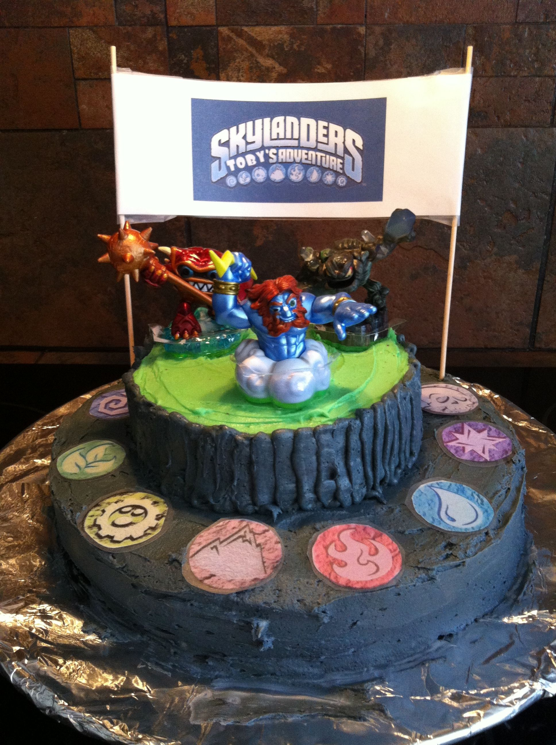 skylanders cakecomplete instructions on making your own1