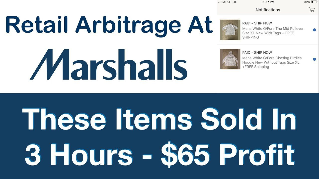 Retail Arbitrage At Marshalls | These Items SOLD In 3 Hours Of Being