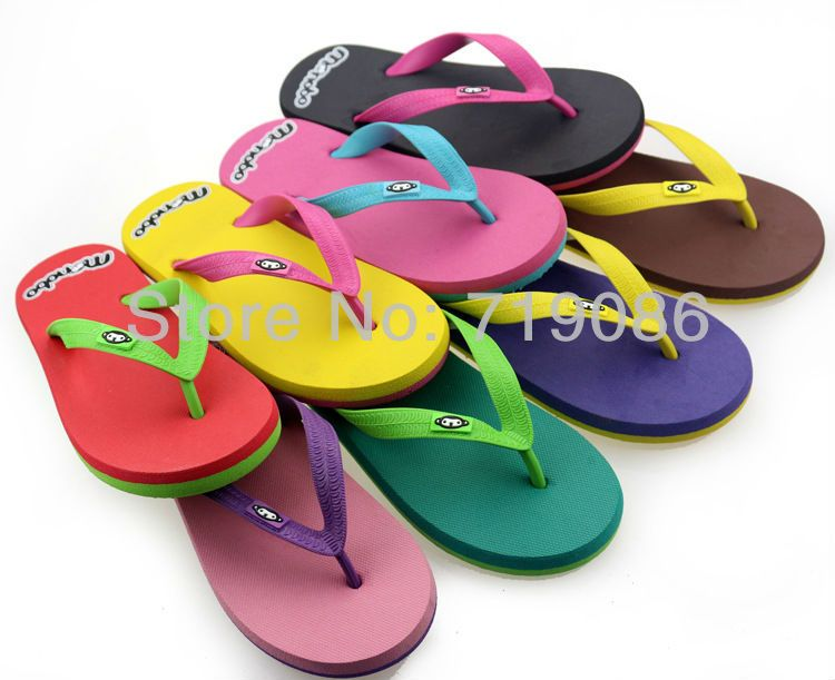 Hot selling 2013 new lady beach flip flops little monkey slippers Women non-slip waterproof Summer slides,free shipping on AliExpress.com. $14.90