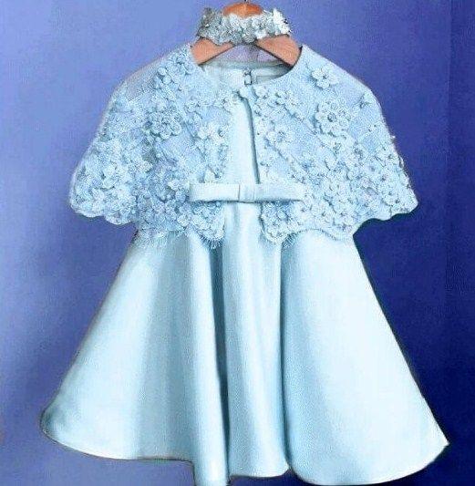 Gaun Brokat Anak Wanita Pakaian Wanita Baju Anak