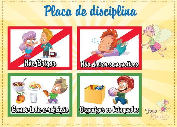 Placas de disciplina Imantado