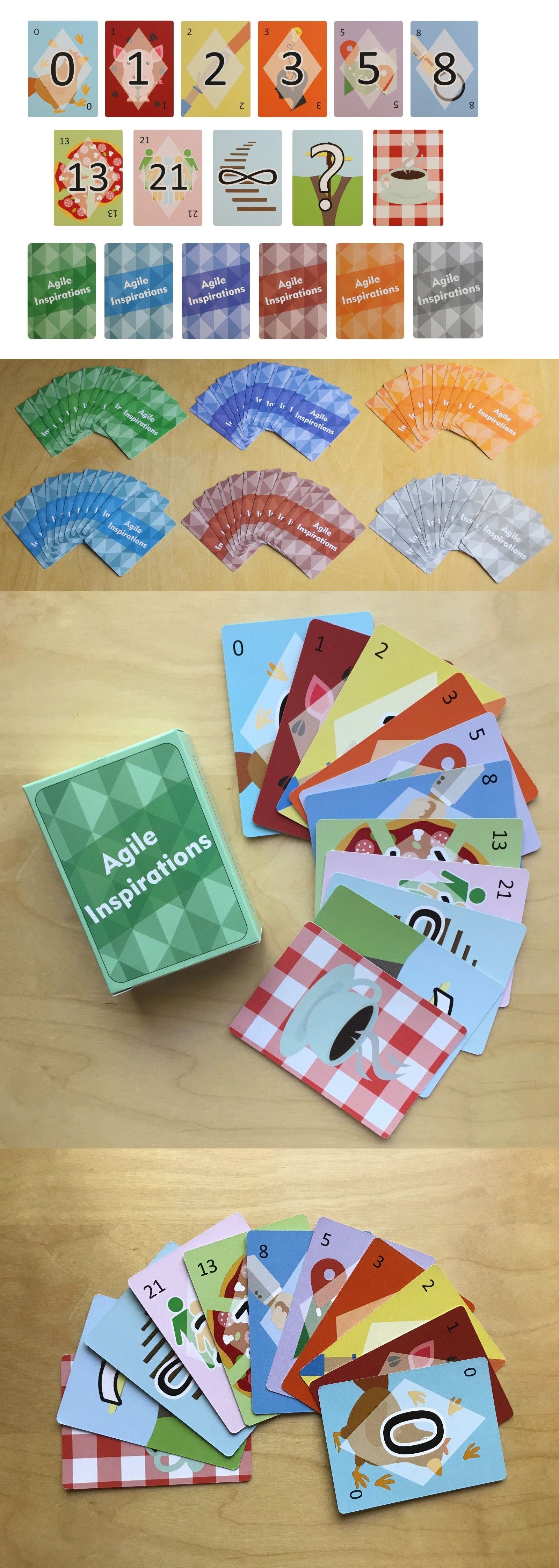 Agile Planning Poker Cards For Estimation Up To 6 Scrum Team Members W 1 Deck 608119842629 Ebay Planning Poker Poker Cards Cards