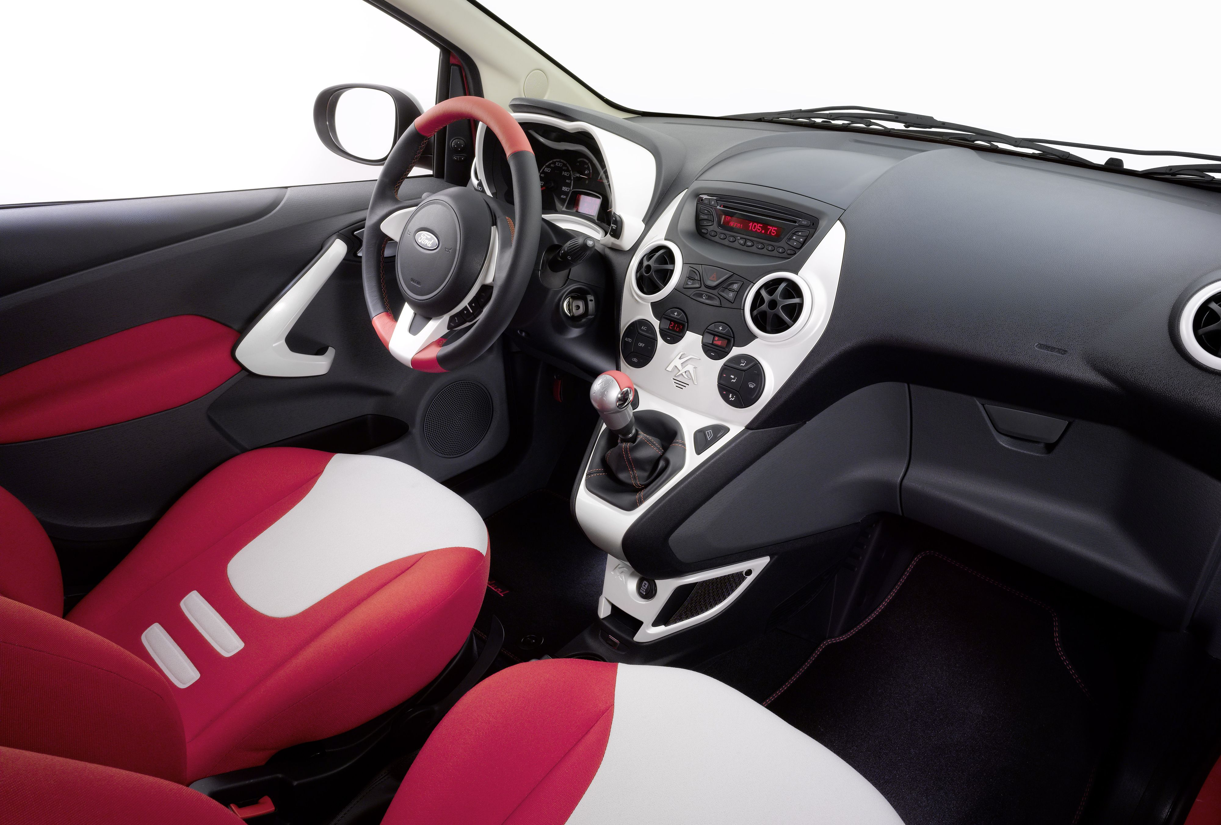 Ford Ka Interior Factory Issued Press Photo Germany 2008 In 2020