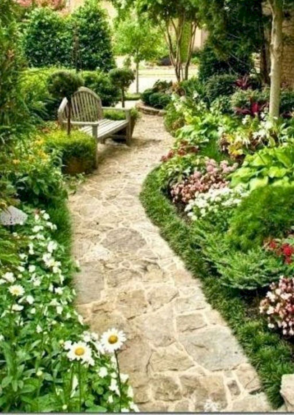 fresh and beautiful side yard landscaping ideas on a