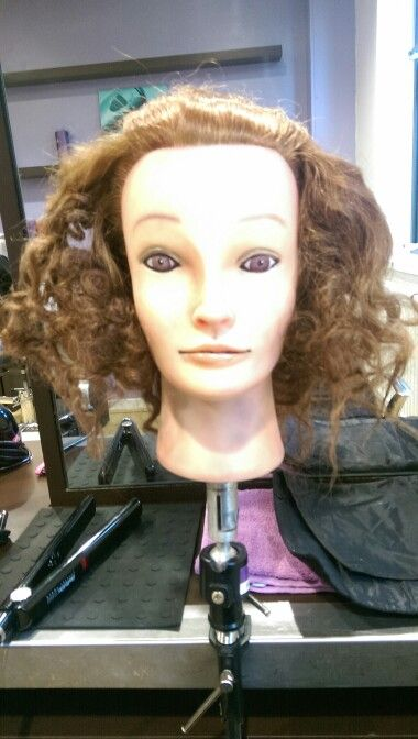 Curls using foil