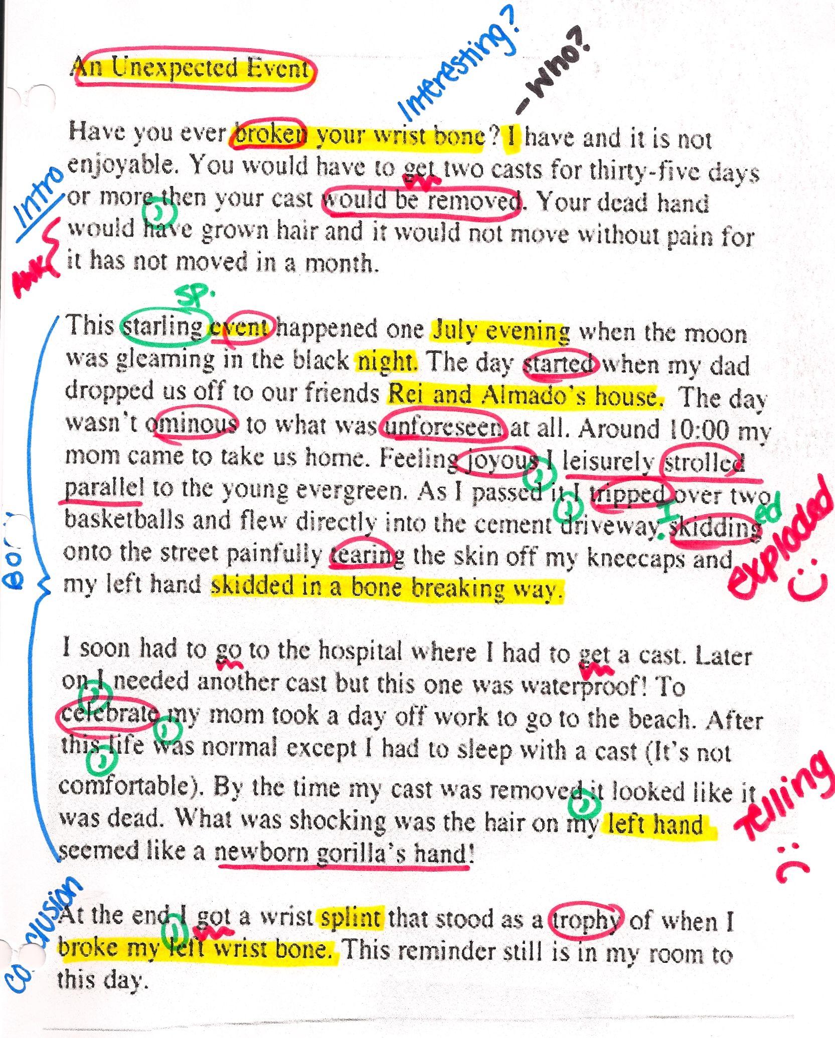 Essay Writing Samples Mesmerizing Statement Essay Writing