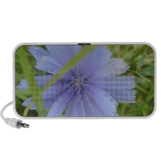 Sweet Blue Purple Flower Mini Speakers http://www.zazzle.com/sweet_blue_purple_flower_mini_speakers-166580047665458334?rf=238290304201005220&tc=pifa #flowers #music