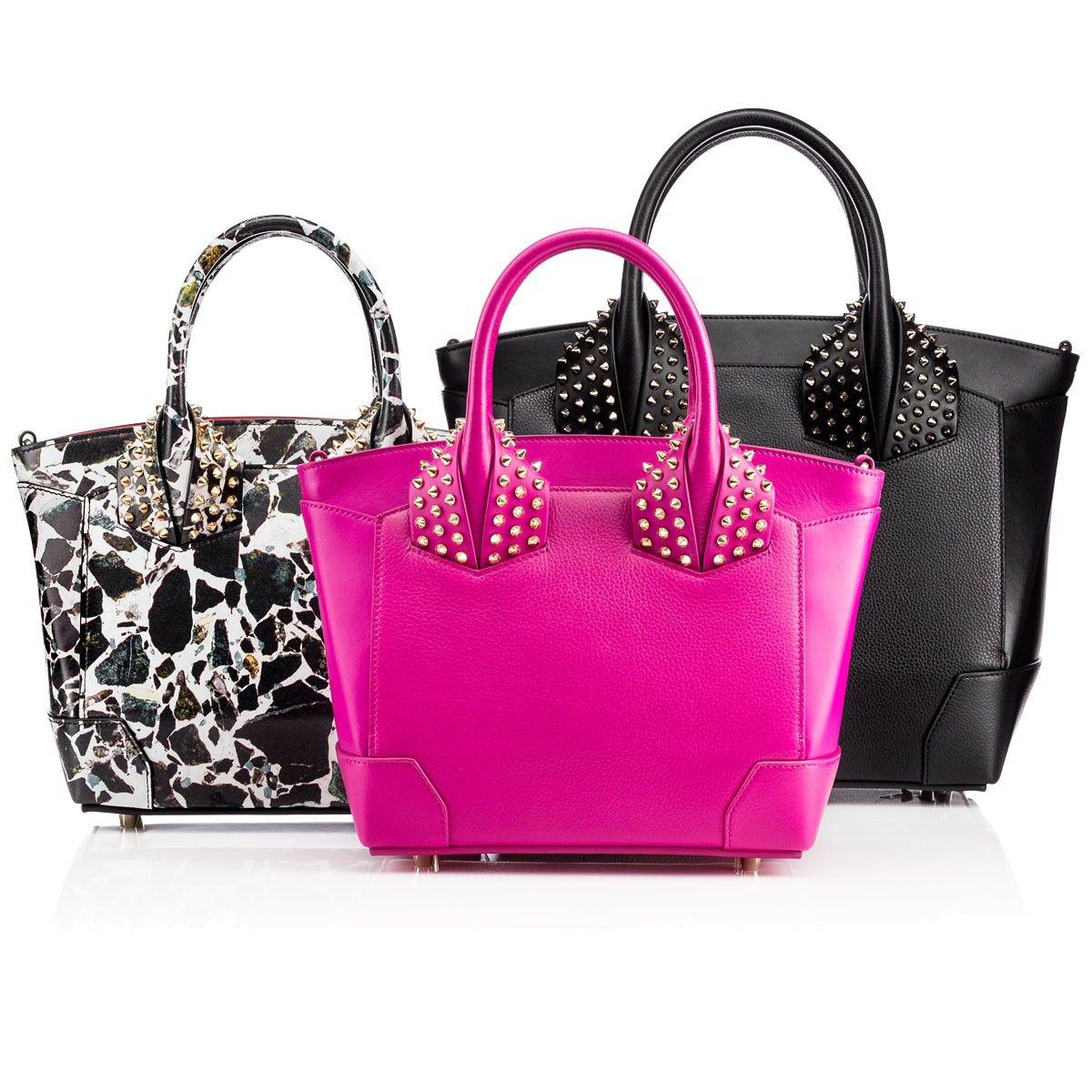 4858088205 Eloise small two handle bag Indian Rose/Indian Rose Calf - Handbags - Christian  Louboutin