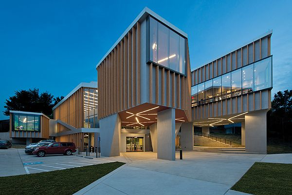 William O. Lockridge/Bellevue Neighborhood Library branch of the District of Columbia Public Library (DCPL). USA