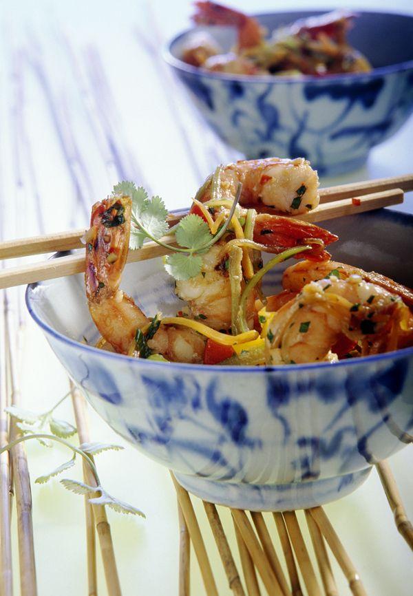 Garnelen asiatisch - Rezept   Rezept   Garnelen rezepte, Edeka und ...