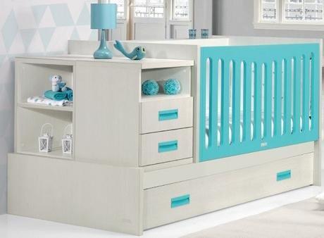 Resultado de imagen para cama cuna dos bebes   Muebles   Pinterest ...