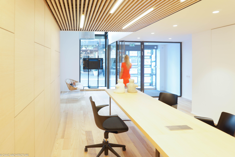 Agence immobiliere bureau frene grenoble caaz architecture atelier